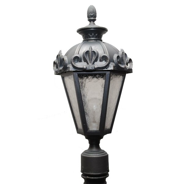 Petrey 1 Light 21 Post Lantern by Alcott Hill