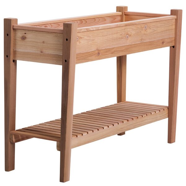 EZ 4 ft x 1.5 ft Cedar Raised Garden by Arboria