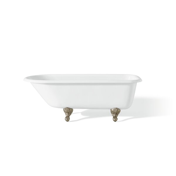 61 x 30 Soaking Bathtub with Continuous Rolled Rim by Cheviot Products
