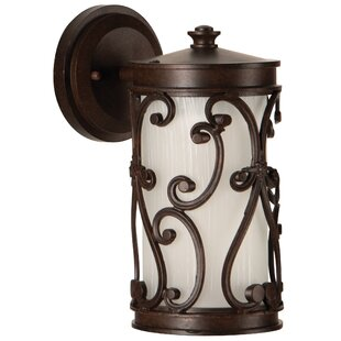 Price comparison Wilkinson Outdoor Wall Lantern By Fleur De Lis Living