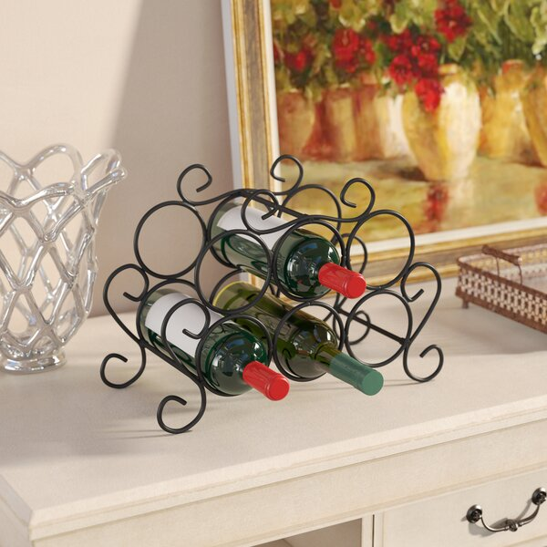 Siebert 7 Bottle Tabletop Wine Bottle Rack By Darby Home Co