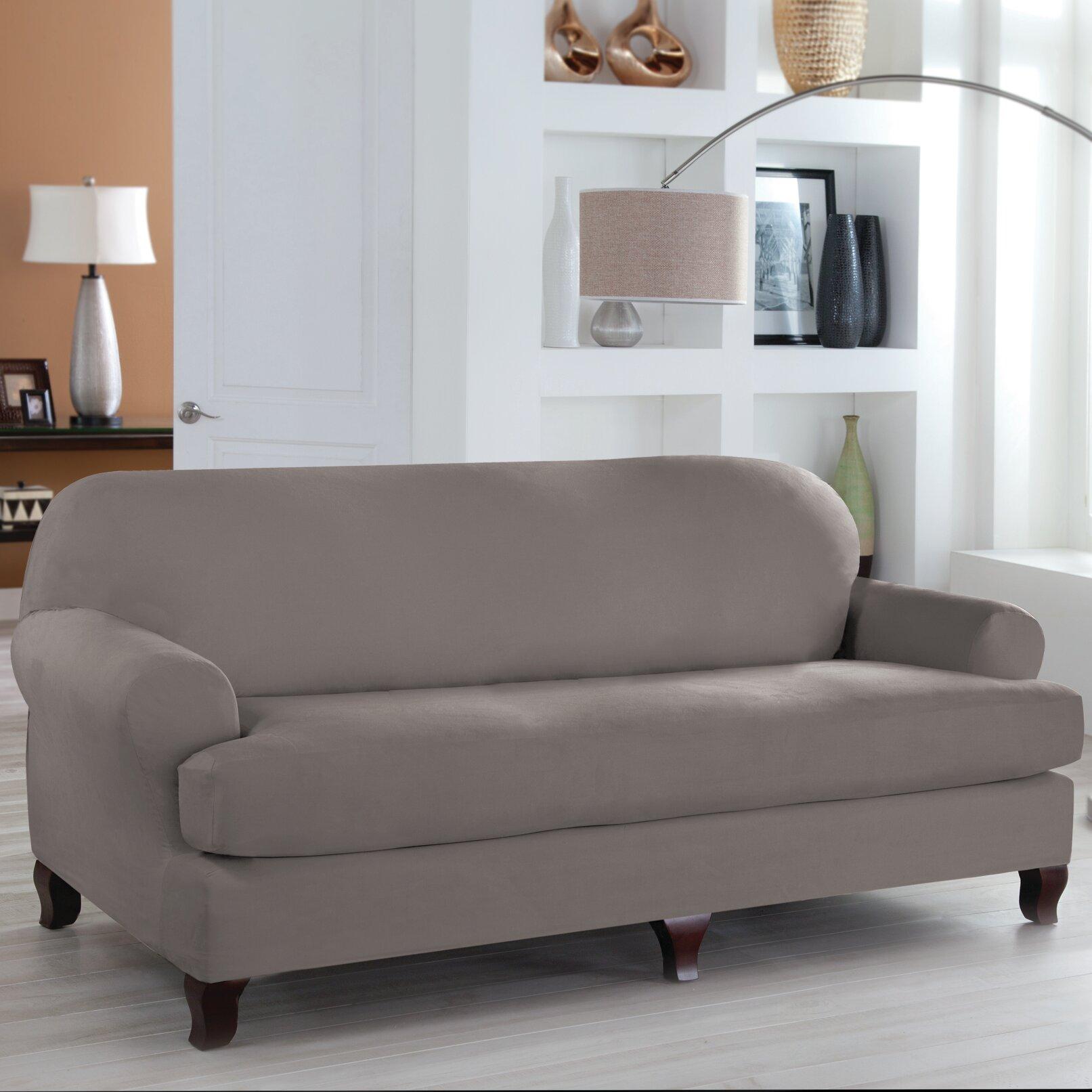 Ordinaire Red Barrel Studio T Cushion Sofa Slipcover U0026 Reviews | Wayfair
