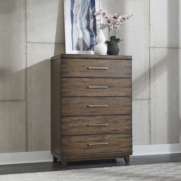 Schacht 5 Drawer Chest by Brayden Studio