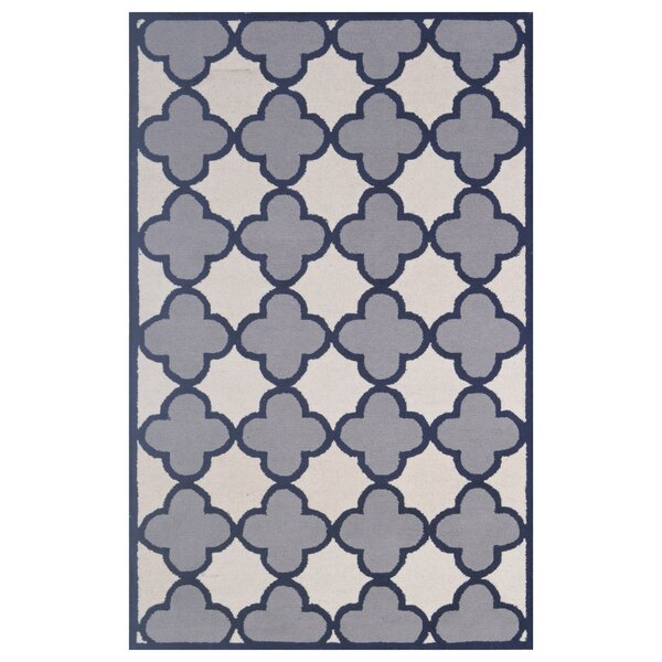 Wool Hand-Tufted Ivory/Silver Area Rug by Eastern Weavers