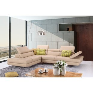 Piero Leather Sectional