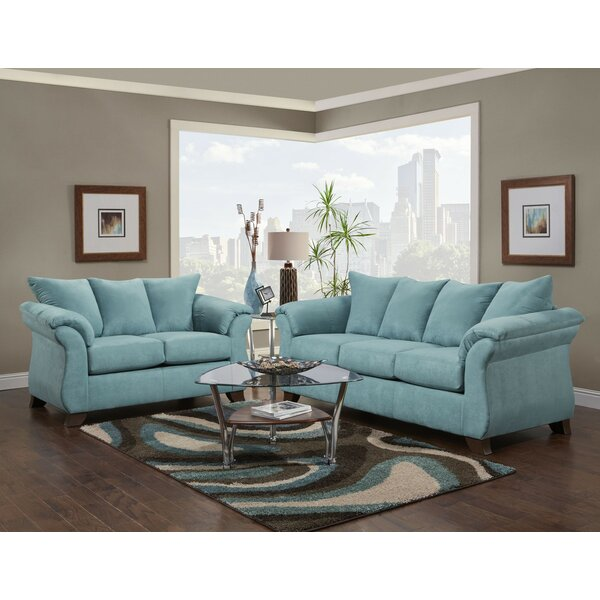 Saltzman 2 Piece Living Room Set by Winston Porter