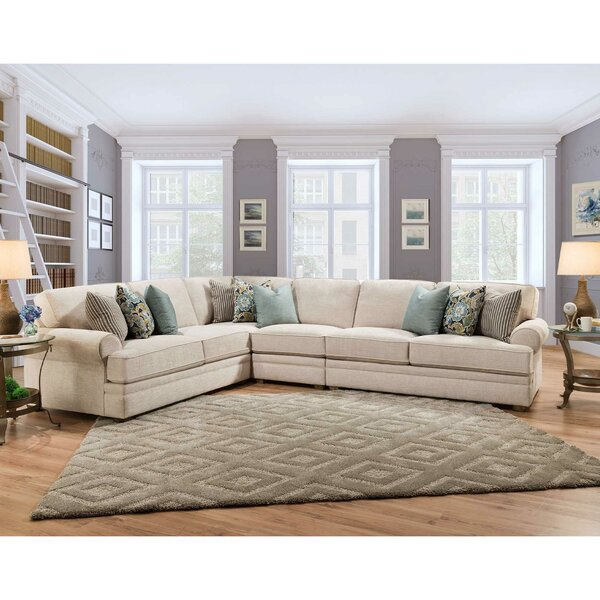 Zareen Left Hand Facing Sectional by Darby Home Co