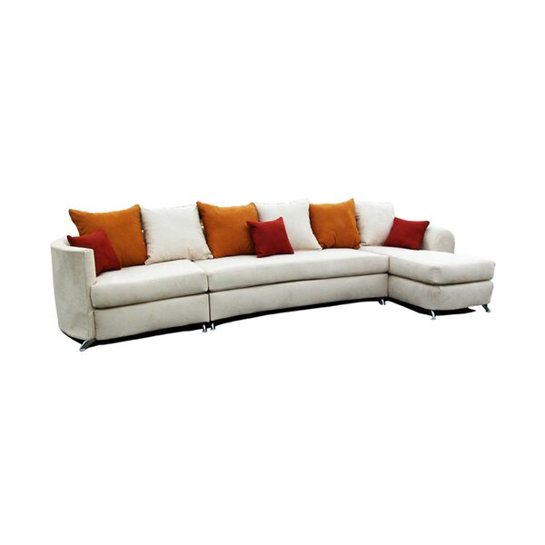 Cheap Price Bergson Right Hand Facing Sectional