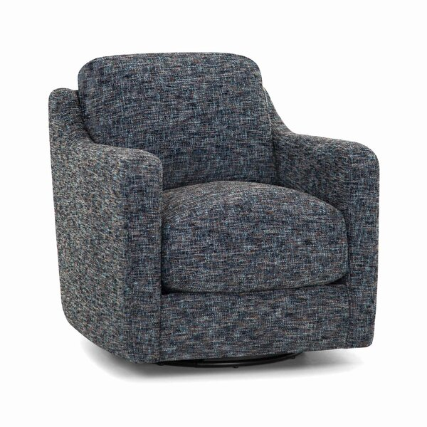 Ehrlich Swivel Armchair by Gracie Oaks