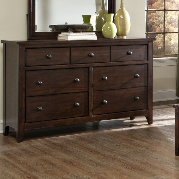Ridgeview 7 Drawer Standard Dresser by Winston Porter