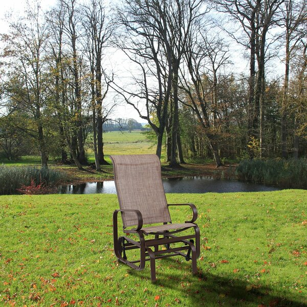Ratcliff Steel Swing Rocking Chair by Winston Porter