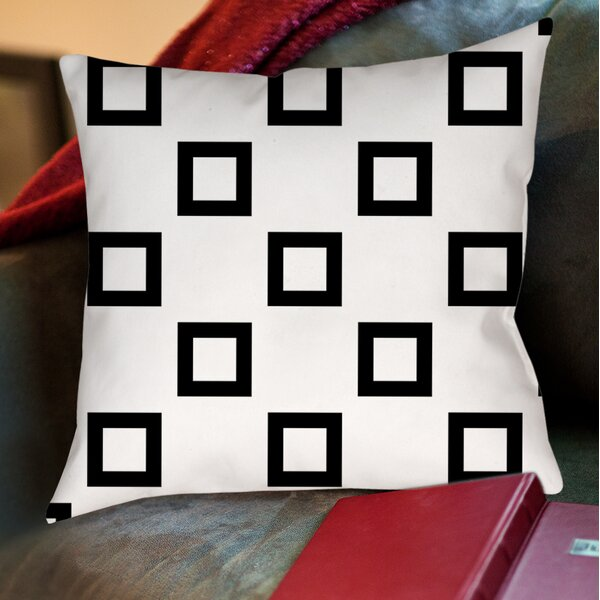 Band Printed Throw Pillow by Manual Woodworkers & Weavers