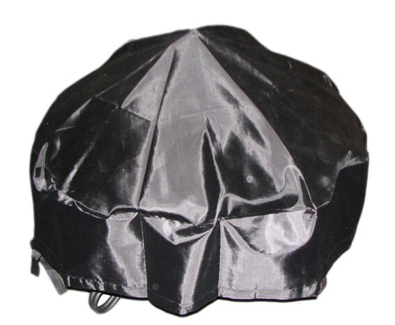 PVC Coated Oxford Fabric Round Fire Pit Cover by Deeco