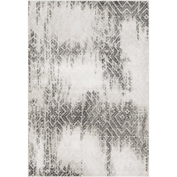 Dille Distressed Camel/Taupe Area Rug by Williston Forge