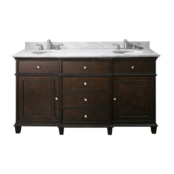 Shrewsbury 61 Bathroom Vanity Set by Andover Mills