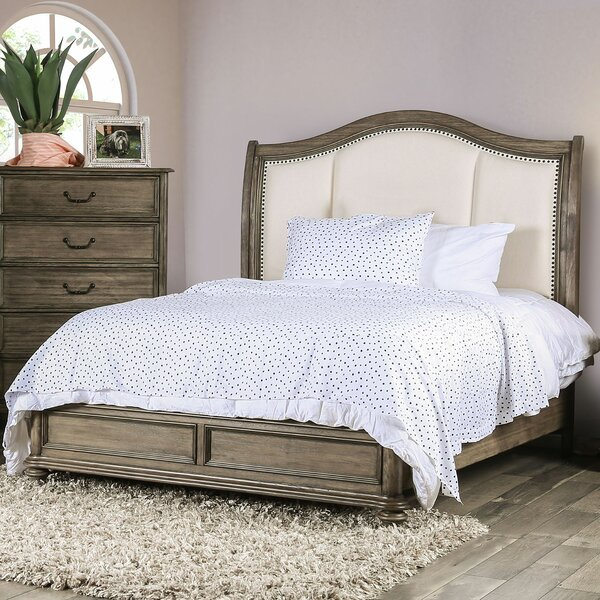 Thelma Upholstered Standard Bed by Canora Grey