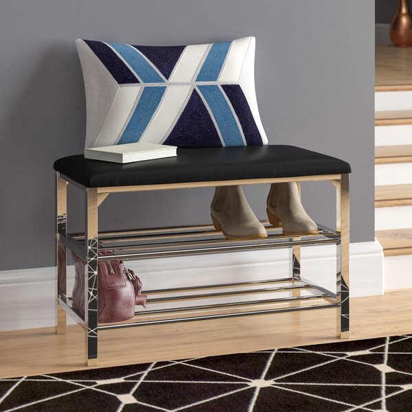 Stellarton Faux Leather Upholstered Storage Bench
