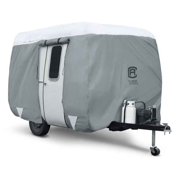 OverDrive PolyPro3 Molded Fiberglass Travel Trailer RV Cover by Classic Accessories