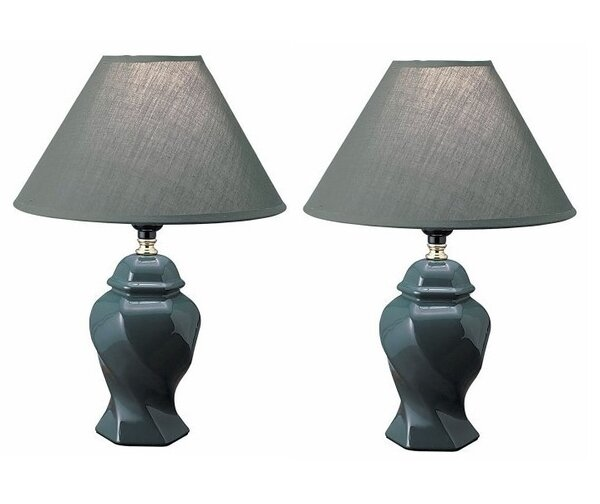 Altitude 15 Table Lamp (Set of 2) by Winston Porter
