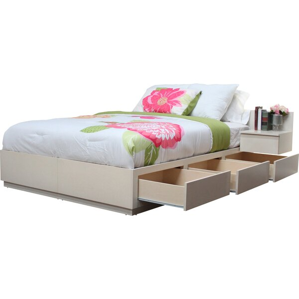 Schwabe Storage Platform Bed by Winston Porter