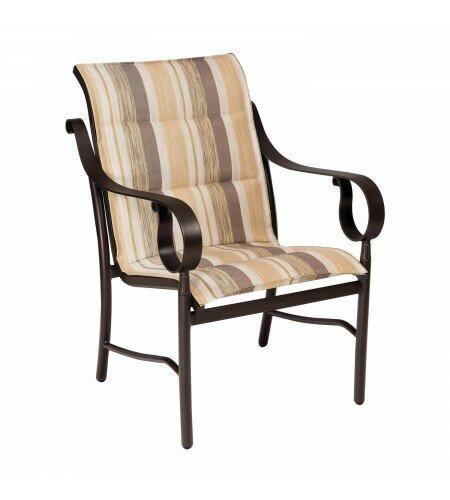 Ridgecrest Sling Patio Dining Chair by Woodard