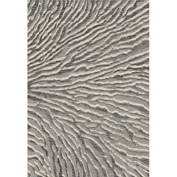 Cearley Gray Area Rug by Highland Dunes