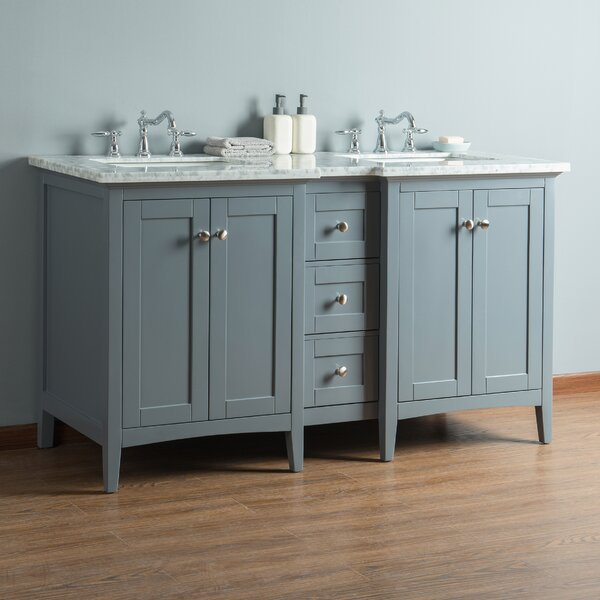 Chelton 60 Double Bathroom Vanity Set by Breakwater Bay