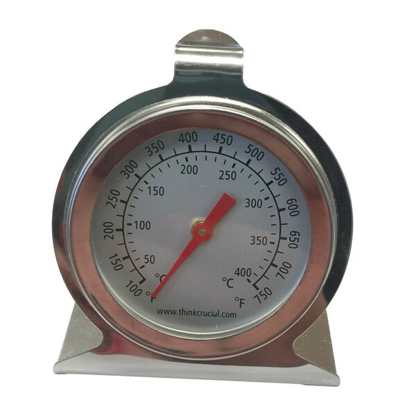 High Heat Oven Dial Thermometer by Crucial