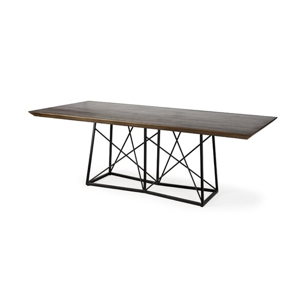 Brokaw Morpheus Dining Table by Williston Forge