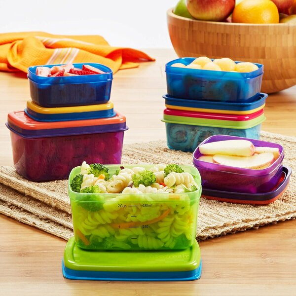Dahl 6 Container Food Storage Set by Rebrilliant