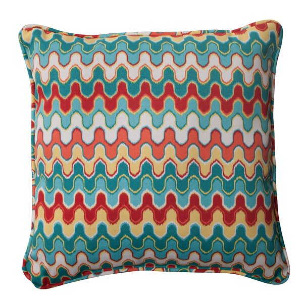 Nivala Corded Indoor/Outdoor Throw Pillow (Set of 2) by Pillow Perfect