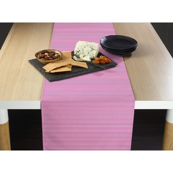 Espinal Stripes Milliken Signature Table Runner by Breakwater Bay