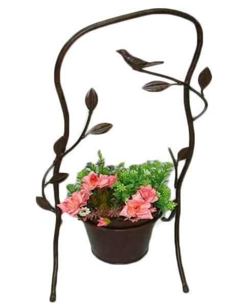Gawanang Metal Planter Stand by August Grove