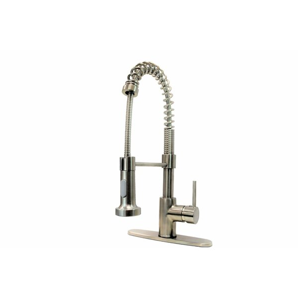 Pull Down Single Handle Kitchen Faucet by KEE