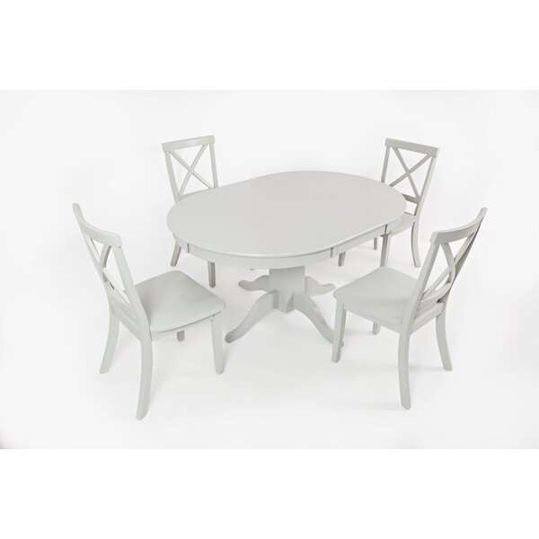 Dunster 5 Piece Dining Set by Alcott Hill