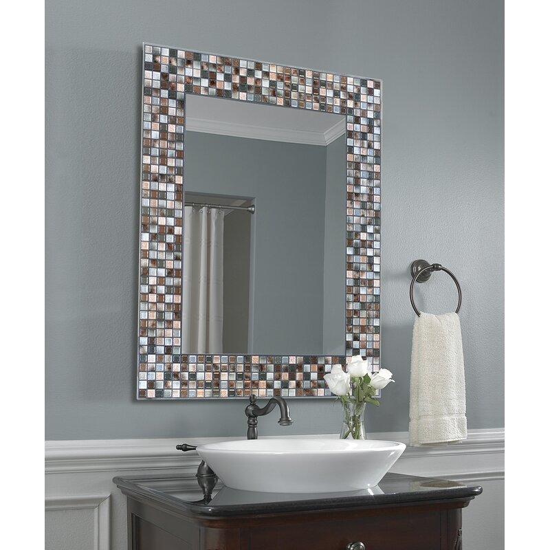 World Menagerie Tillman Mosaic Tile Accent Wall Mirror Reviews