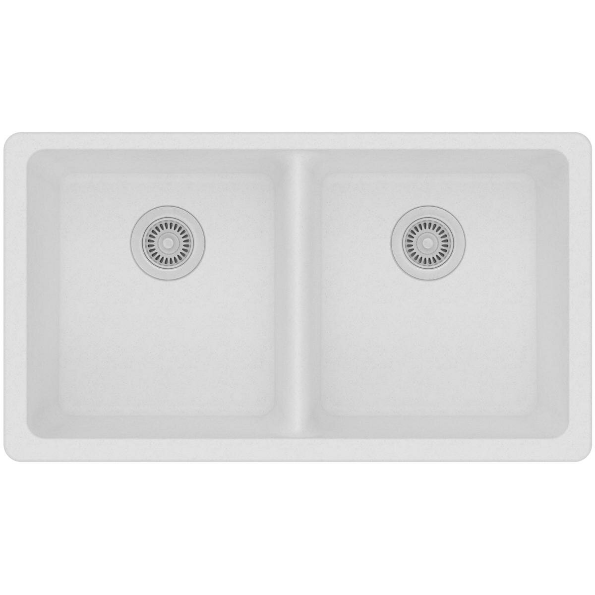 Classic 33 X 19 Double Basin Undermount Kitchen Sink