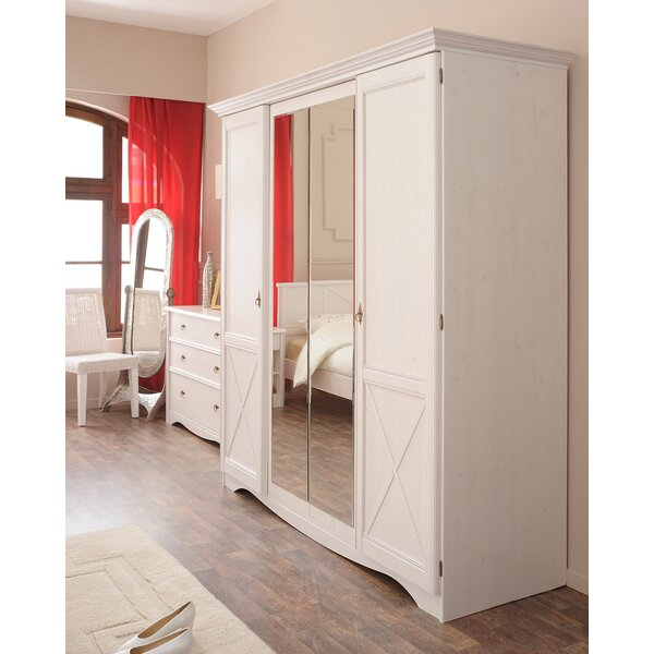 Pippa 4 Door Armoire By Rosalind Wheeler by Rosalind Wheeler 2020 Sale
