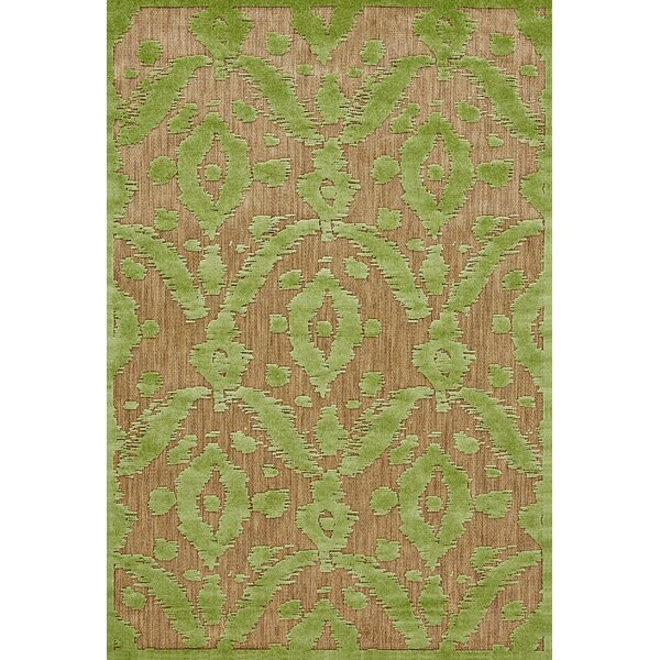 Monroe Green Indoor/Outdoor Area Rug by Threadbind