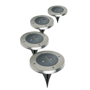 Bargain Solar Garden 1 Light Pathway Light (Set of4) (Set of 4) By Ideaworks