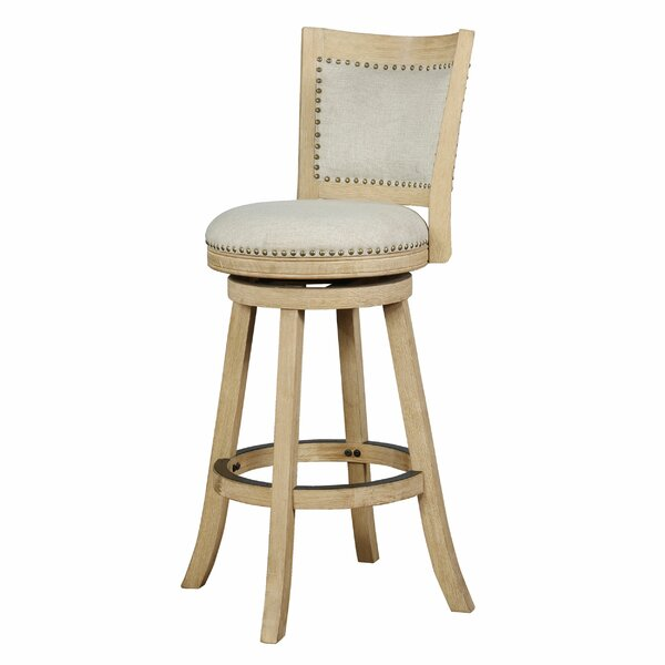 Campos Bar & Counter Swivel Stool by One Allium Way One Allium Way