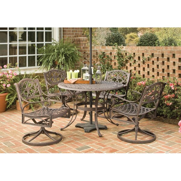 Ayleen 5 Piece Dining Set by August Grove
