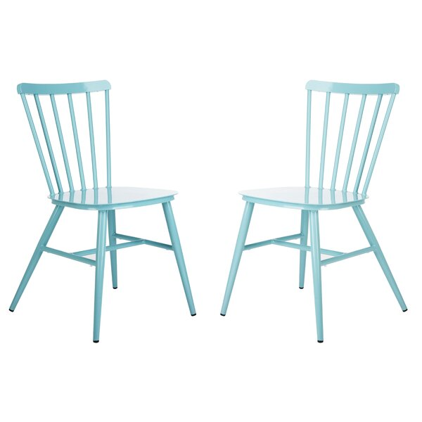 Kayden Stacking Patio Dining Chair (Set of 2) by Gracie Oaks