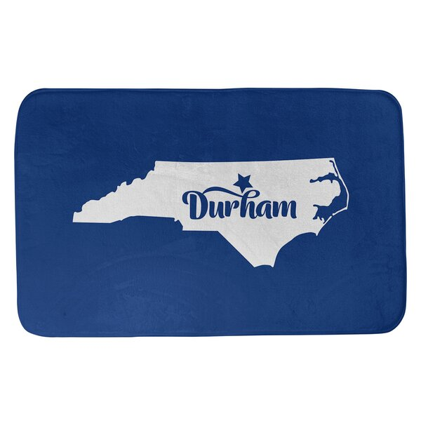 North Carolina Sports Colors Rectangle Non-Slip Does Not Apply Bath Rug