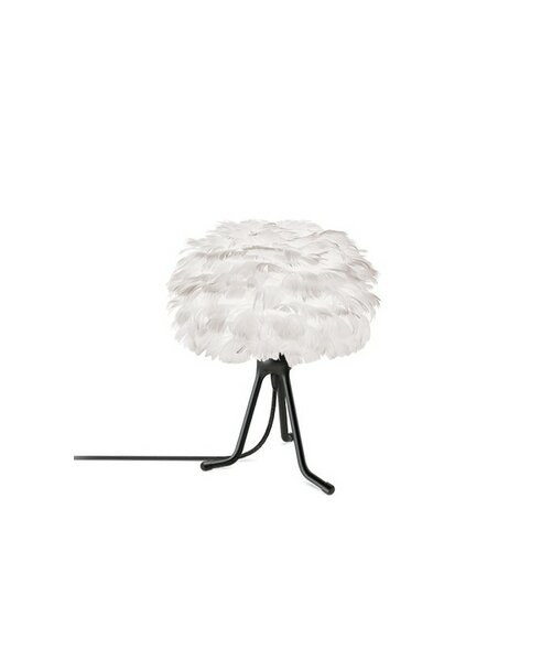 Eos 13 Modern Feather Globe Table Lamp by Umage