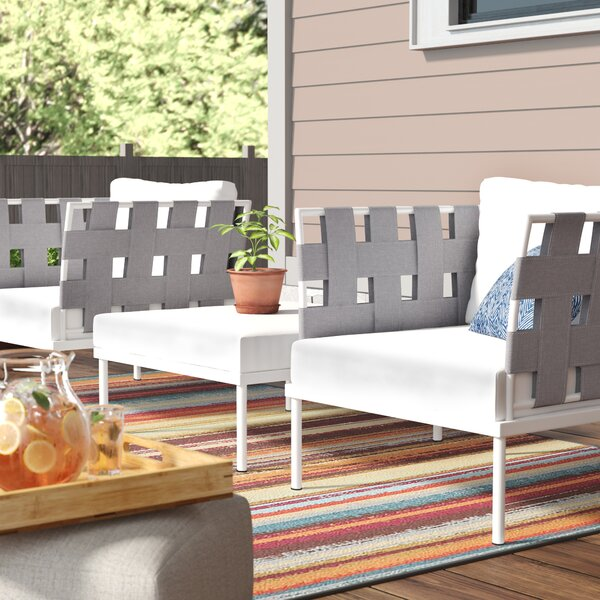 Darnell 3 Piece Conversation Set with Cushions by Brayden Studio