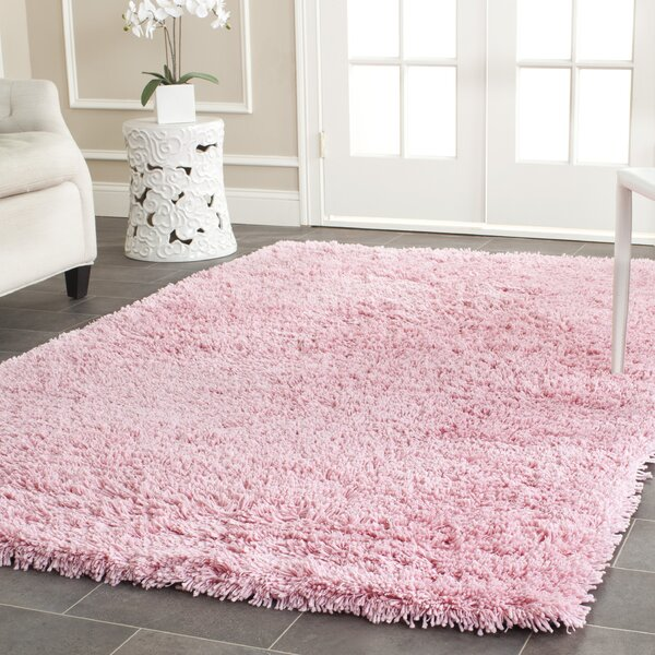 Cody Hand-Loomed Pink Kids Rug by Zipcode Design