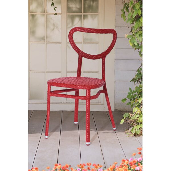 Broome Stacking Patio Dining Chair by Brayden Studio
