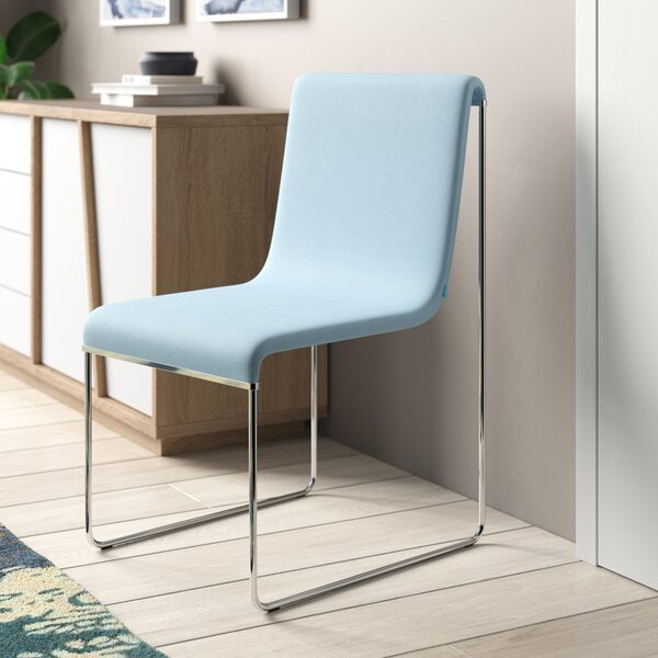 Slender Eco Leather Guest Chair By B&T Design