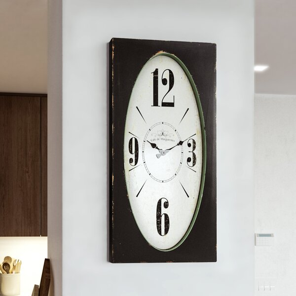 Pinch Wall Clock by Red Barrel Studio